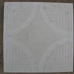 Квадрат «БУБНОВЫЙ ТУЗ» 35х35х4 см серый