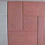 Квадрат «ДОСКА КАЛИФОРНИЯ» 30х30х3 см красный