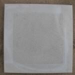 Квадрат «ШАГРЕНЬ» 30х30х3 см серый красный