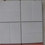 Квадрат 40х40х6 см «8 КИРПИЧИКОВ» серый