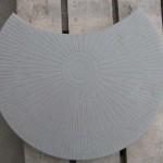 Полумесяц 50х35х6 серый